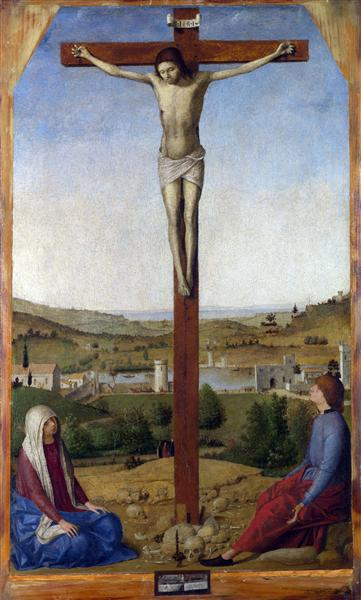 Crucifixion, 1475 - Antonello da Messina