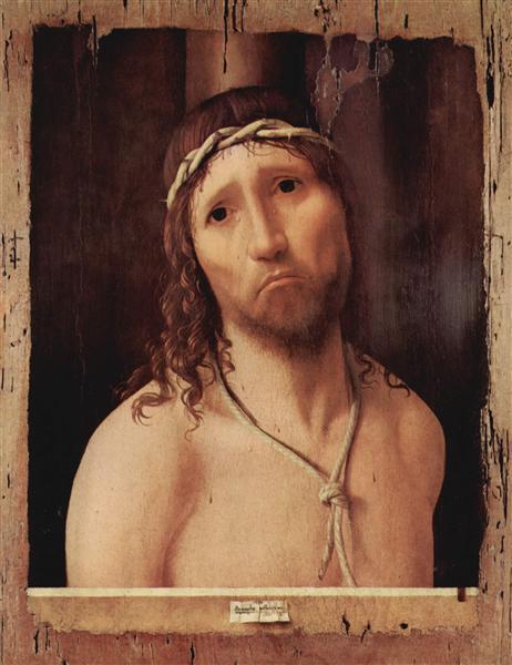 Ecce Homo, c.1473 - Antonello da Messina