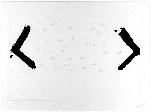 Les Haricots, 1969 - Antoni Tàpies