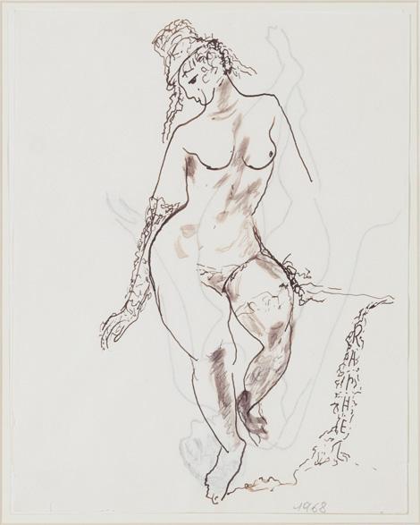 Figura femminile, 1968 - Antonietta Raphael