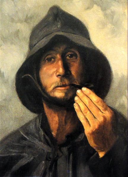 Homem do Mar (Leça), 1905 - Antonio Carneiro