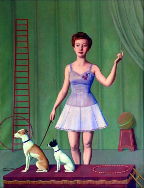L'altalena, 1941 - Antonio Donghi