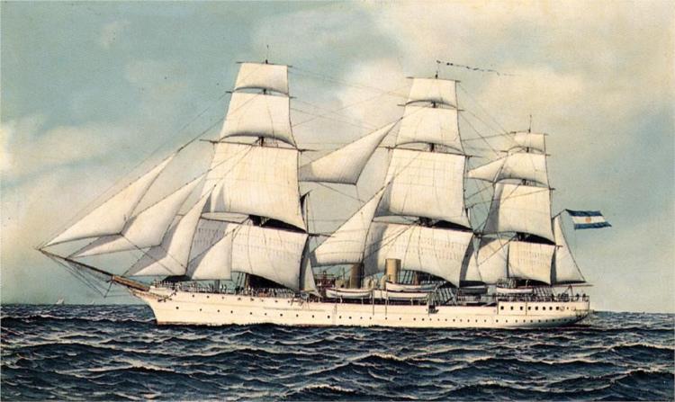 A Ship's Portrait, 1903 - Antonio Jacobsen