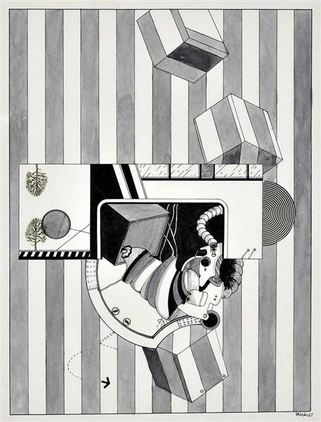 Untitled, 1967 - Antonio Palolo