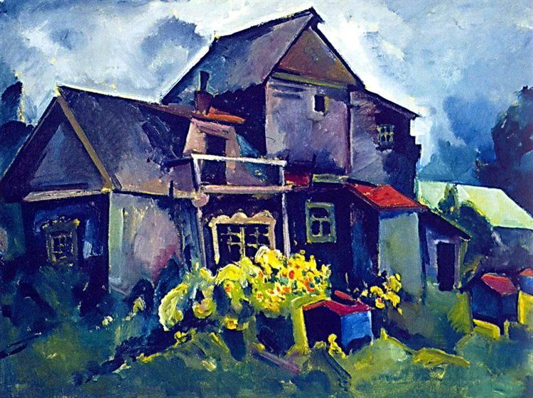 Country House. Village Zyuzino - Aristarkh Lentulov