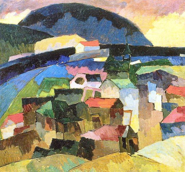 Gursuf, 1913 - Aristarkh Lentulov
