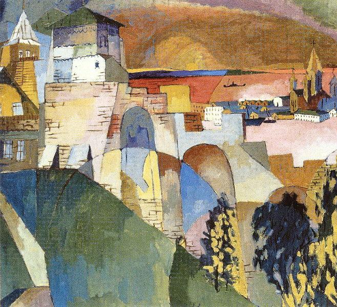 Nizhny Novgorod, 1925 - Aristarkh Lentoulov