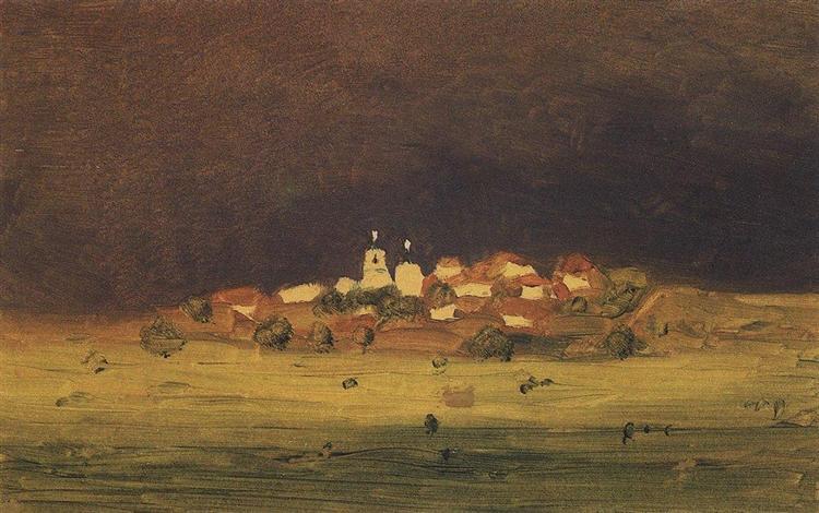 After a Rain, c.1895 - Arkhip Kuindzhi