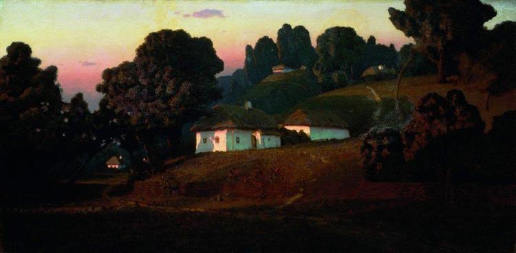 Evening in Ukraine, 1878 - Arkhip Kouïndji