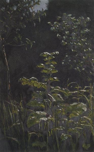 Forest. Burdock, c.1908 - Arkhip Kuindzhi