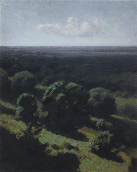 Forest expanse, c.1908 - Arkhip Kuindzhi