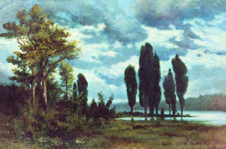 Landscape, 1874 - Arkhip Kuindzhi