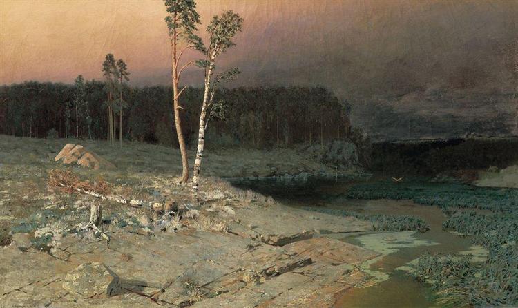 On a Valaam Island, 1873 - Arkhip Kuindzhi