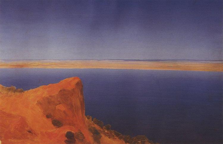 Volga, c.1895 - Архип Куїнджі