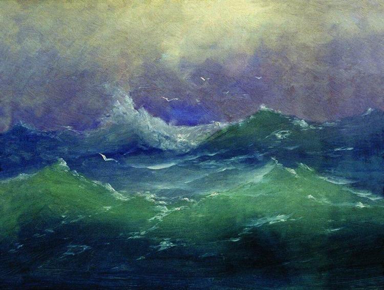 Waves - Arkhip Kuindzhi