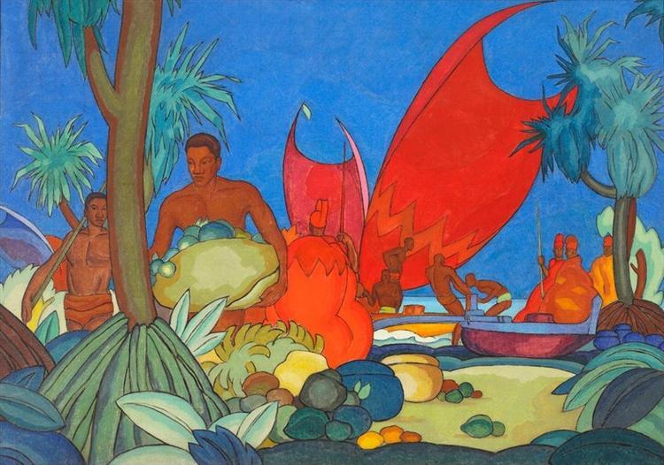 Red Sails, 1928 - Arman Manookian