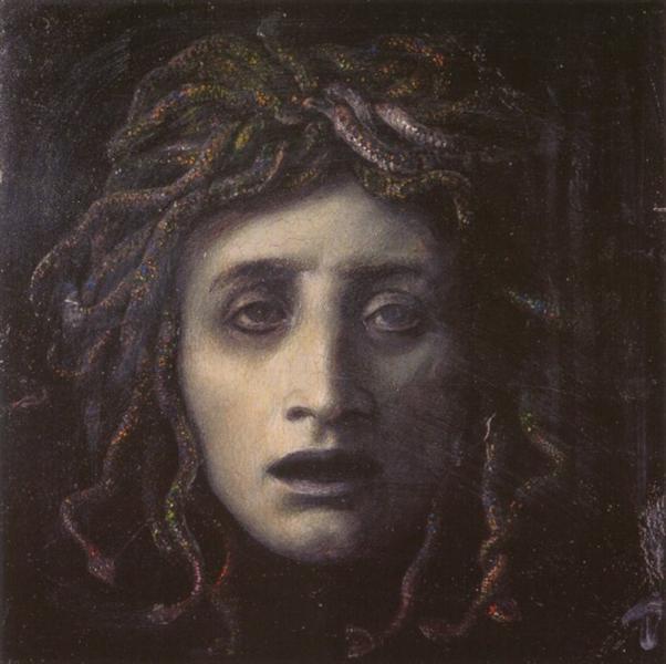 Medusa - Arnold Böcklin