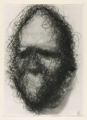 Untitled (Death Mask), 1978 - Arnulf Rainer