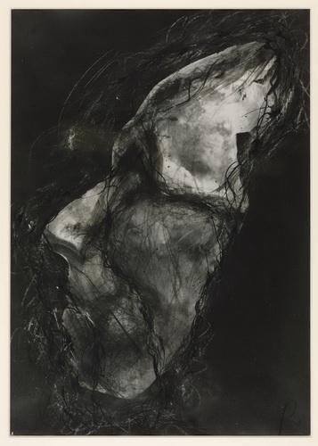 Untitled (Death Mask), 1978 - Arnulf Rainer