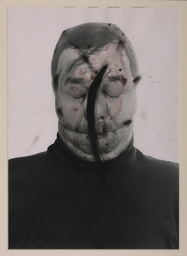Untitled (Face Farce), 1971 - Arnulf Rainer