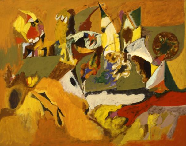 Golden Brown Painting, 1943 - 1944 - Arshile Gorky