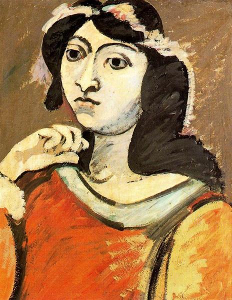 Portrait of Ahko, c.1937 - Arshile Gorky