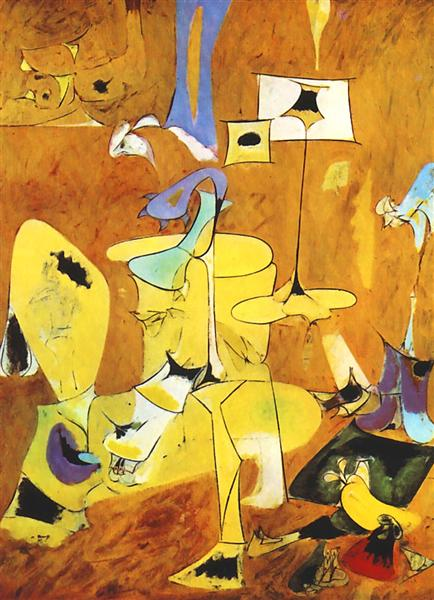 The Betrothal II, 1947 - Arshile Gorky