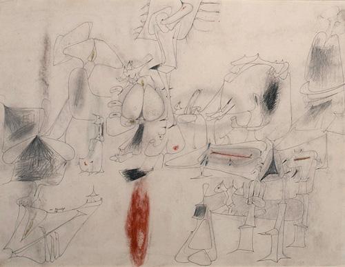 Untitled, 1946 - Arshile Gorky