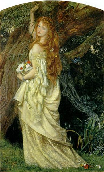 Ophelia, c.1863 - Arthur Hughes