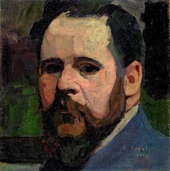 Selbstbildnis, 1908 - Arthur Segal