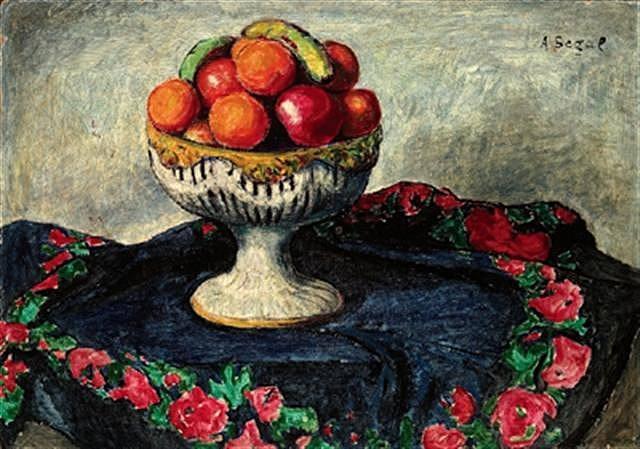 Still Life with Fruits, 1911 - Arthur Segal