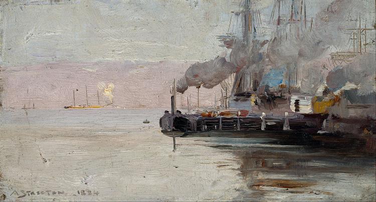 Sandridge, 1888 - Arthur Streeton