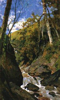 Cascada de Catuche - Arturo Michelena