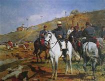 Joaquín Crespo en la Batalla de Los Colorados - Arturo Michelena