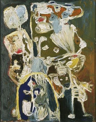 Jardin des êtres, 1957 - Asger Jorn