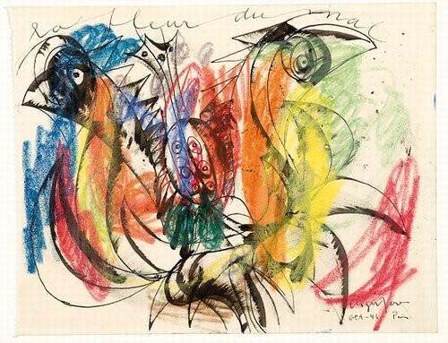 La Fleur du mal, 1946 - Asger Jorn