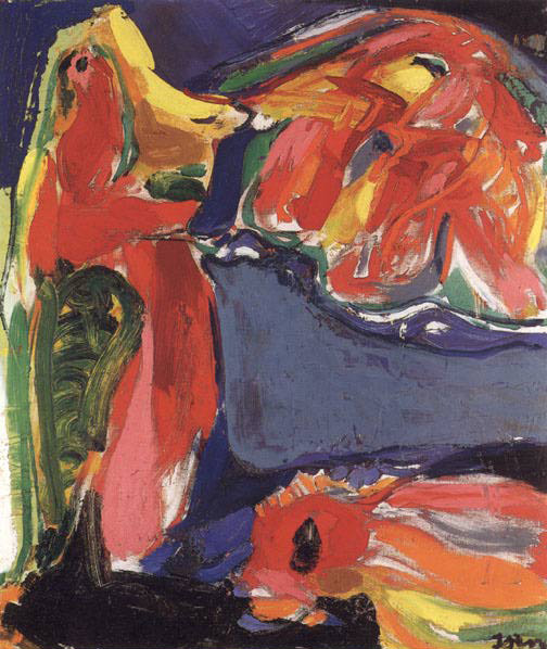Vizio geologico, 1969 - Asger Jorn