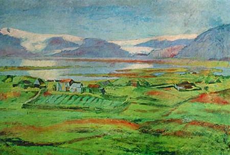 From Hornafjörður, the Farm Stóra-Lág, Southeast Iceland, 1912 - Asgrimur Jonsson
