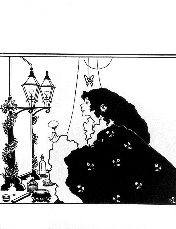 Cover design for  The Yellow Book Aubrey Beardsley The Yellow Book