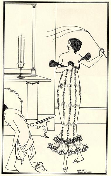 Full and True Account of the Wonderful Mission of Earl Lavender, frontispiece, 1895 - Aubrey Beardsley