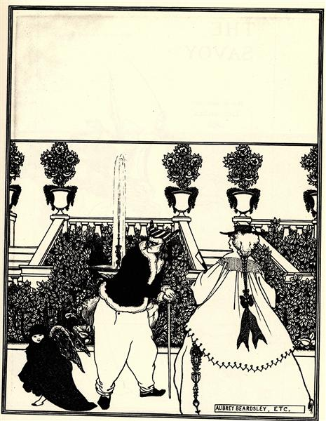 No. 3, 1896 - Aubrey Beardsley