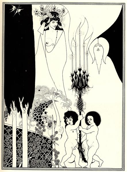 The Eyes of Herod, 1894 - Aubrey Beardsley