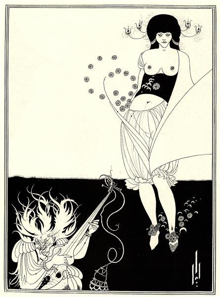 The Stomach Dance, 1893 - Aubrey Beardsley