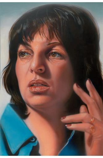 Self-Portrait, 1974 - Audrey Flack