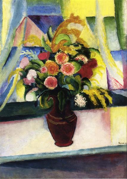 Untitled, 1913 - August Macke