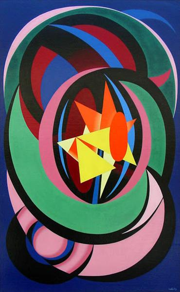 Combat Clair-Obscur, 1939 - Auguste Herbin
