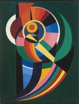 Composition 1940 auguste herbin for Auguste herbin oeuvre