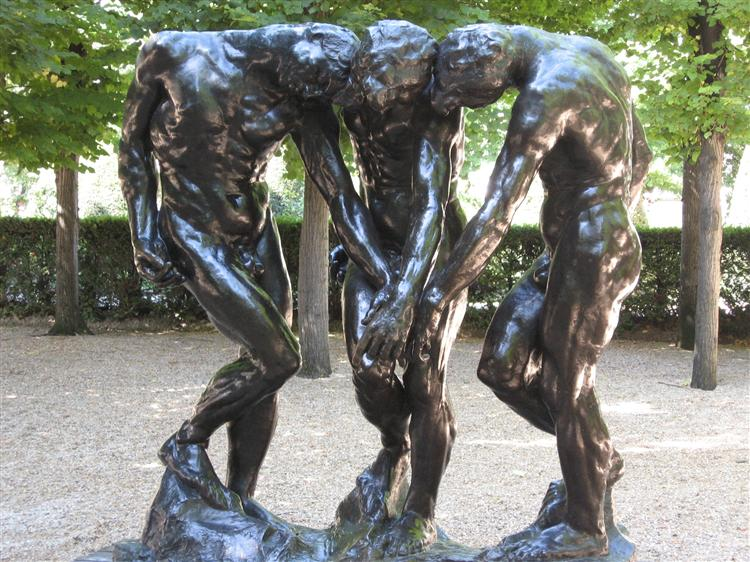The Three Shades, 1886 - Auguste Rodin