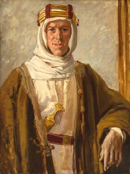Colonel T. E. Lawrence, 1919 - Augustus John