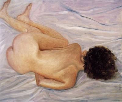 Turned Nude, 1990 - Avigdor Arikha